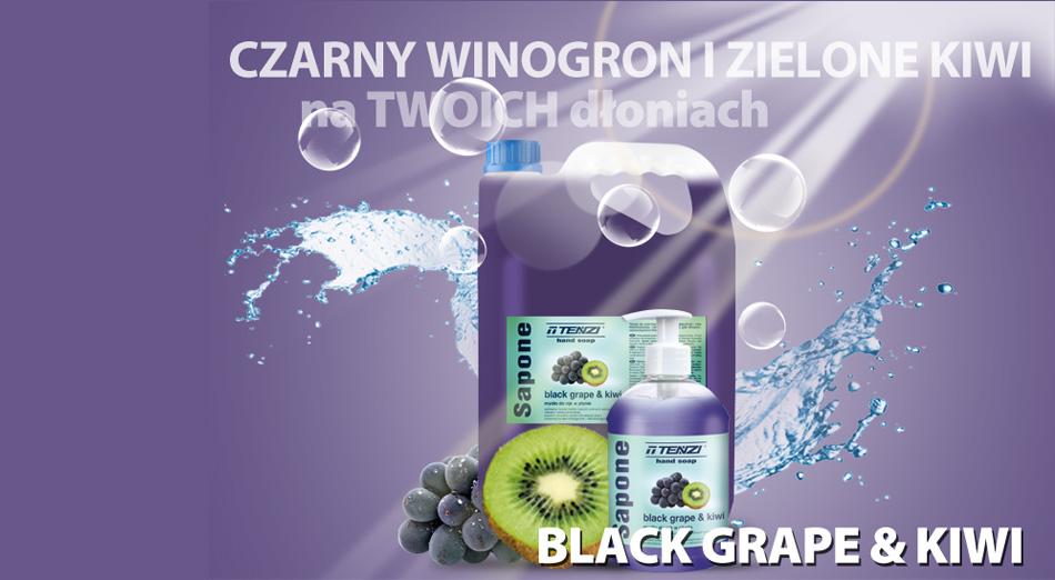 sapone black grape&kiwi